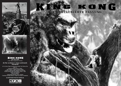 Filmplakat von King Kong und die weiße Frau (OV)