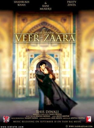 Filmplakat von Veer & Zaara - Legende einer Liebe (OV)