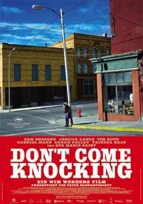 Filmplakat von Don't Come Knocking