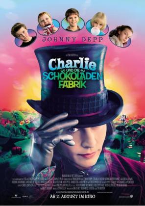 Filmplakat von Charlie und die Schokoladenfabrik (OV)