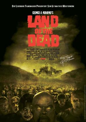 Filmplakat von Land of the Dead (OV)