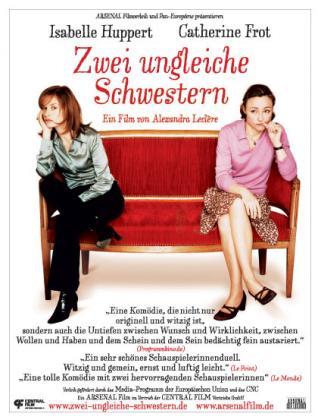 Filmplakat von Zwei ungleiche Schwestern (OV)