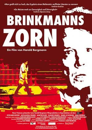 Filmplakat von Brinkmanns Zorn
