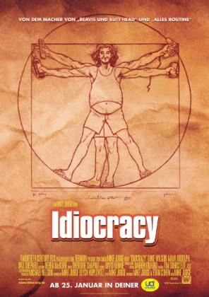 Filmplakat von Idiocracy (OV)