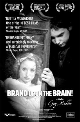 Filmplakat von Brand Upon the Brain!