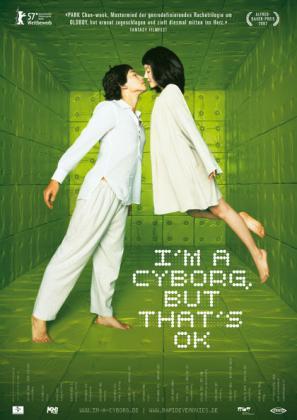 Filmplakat von I'm a Cyborg, but that's ok (OmU)
