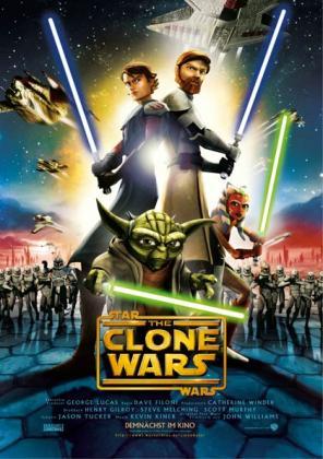 Filmplakat von Star Wars: The Clone Wars