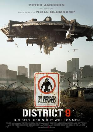 Filmplakat von District 9