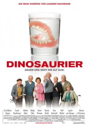 Filmplakat von Dinosaurier - Gegen uns seht ihr alt aus!