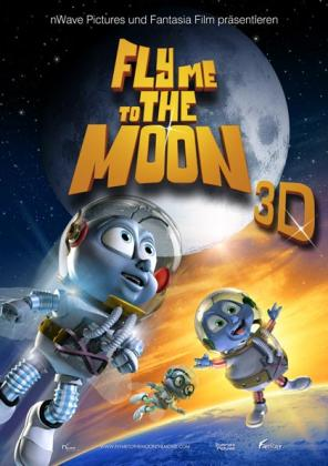 Filmplakat von Fly me to the moon 3D