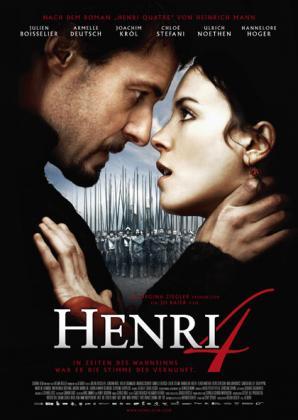 Filmplakat von Henri 4