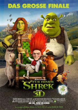 Filmplakat von Für immer Shrek
