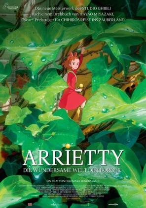 Filmplakat von Arrietty - Die wundersame Welt der Borger (OV)