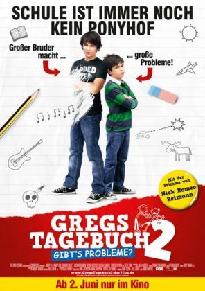 Filmplakat von Gregs Tagebuch 2 - Gibt's Probleme?