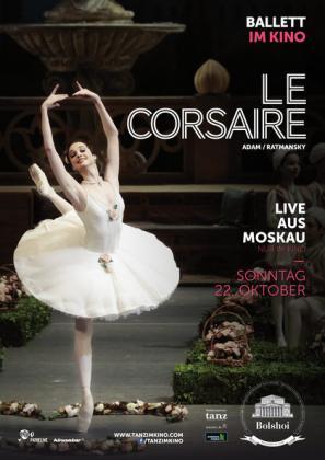 Live aus dem Bolschoi-Theater in Moskau: Le Corsaire