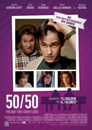Filmbeschreibung zu 50/50 - Freunde fürs (Über)leben