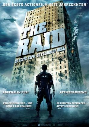 Filmplakat von The Raid