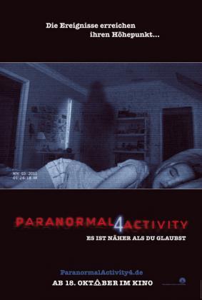 Filmbeschreibung zu Paranormal Activity 4