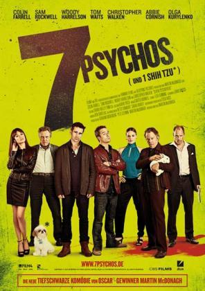 Filmbeschreibung zu 7 Psychos