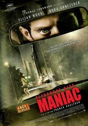 Filmplakat von Alexandre Ajas Maniac (OV)