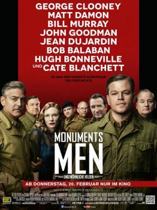 Monuments Men - Ungewöhnliche Helden (OV)