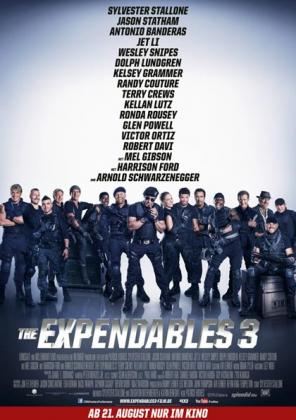 Filmplakat von The Expendables 3