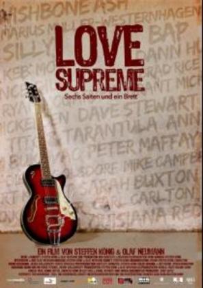 Filmplakat von Love Supreme - Sechs Saiten und ein Brett