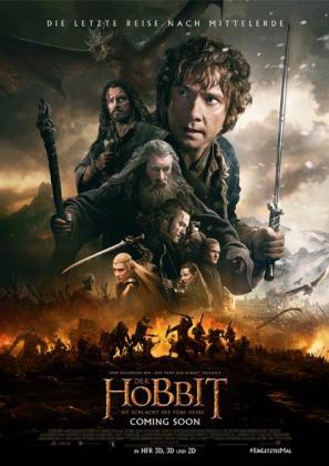 Der Hobbit: Die Schlacht der Fünf Heere 3D (OV)