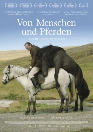 Filmplakat von Von Menschen und Pferden