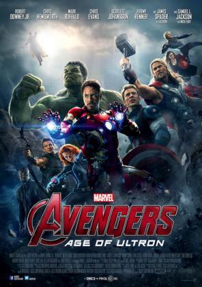 Filmplakat von Marvel's The Avengers 2: Age of Ultron (OV)
