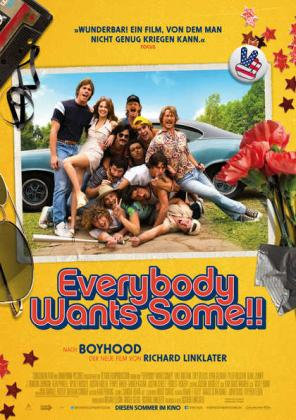 Filmplakat von Everybody wants some (OV)
