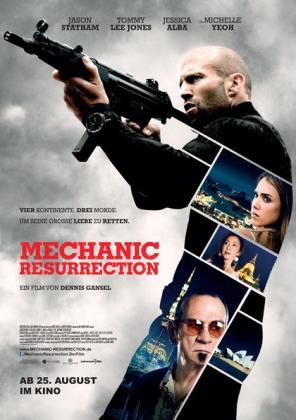 Filmplakat von The Mechanic 2 - Resurrection