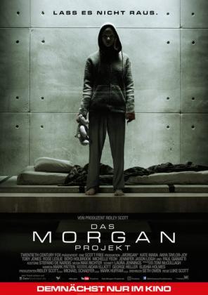 Filmplakat von Das Morgan Projekt