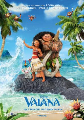 Vaiana - Das Paradies hat einen Haken 3D