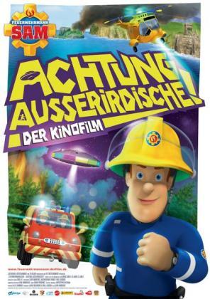 Filmbeschreibung zu Feuerwehrmann Sam - Achtung Ausserirdische!