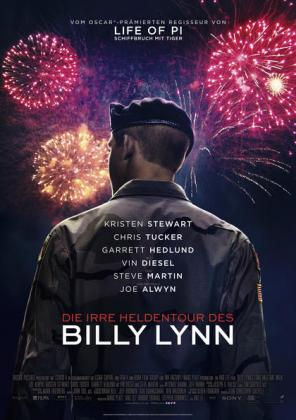 Filmplakat von Die irre Heldentour des Billy Lynn (OV)