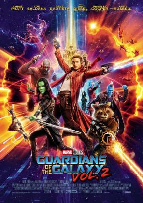 Filmplakat von Guardians of the Galaxy Vol. 2 3D (OV)