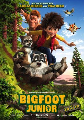 Filmbeschreibung zu Bigfoot Junior 3D