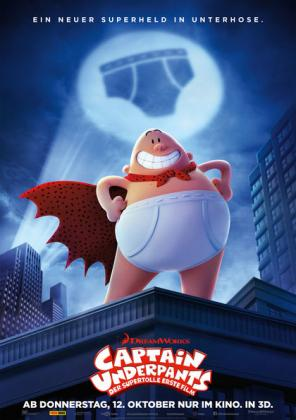 Captain Underpants 3D (OV)