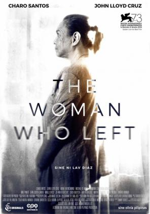 Filmplakat von The Woman who left