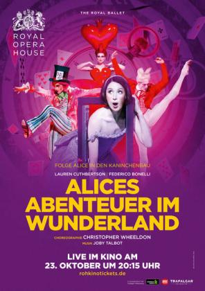 Royal Opera House London: Alice im Wunderland