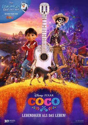 Coco - Lebendiger als das Leben 3D (OV)