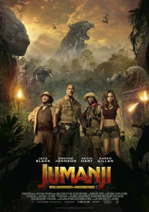 Filmbeschreibung zu Jumanji: Willkommen im Dschungel