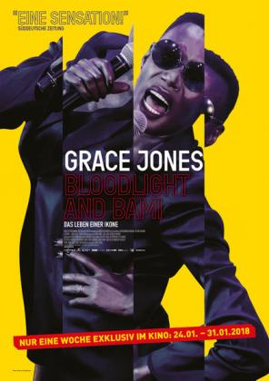 Filmbeschreibung zu Grace Jones: Bloodlight and Bami - Das Leben einer Ikone