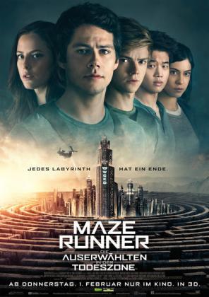 Maze Runner - Die Auserwählten in der Todeszone 3D (OV)