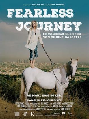 Filmplakat von Fearless Journey - Die aussergewöhnliche Reise von Simone Bargetze (OV)