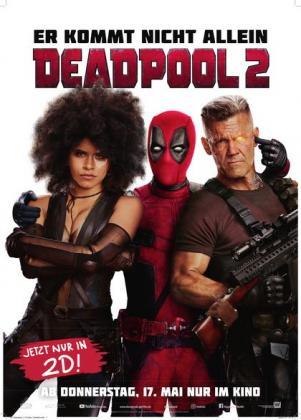 Filmbeschreibung zu Deadpool 2