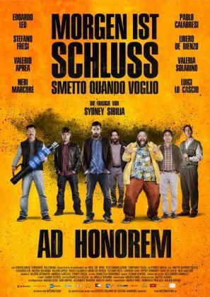 Filmbeschreibung zu Morgen ist Schluss - Ad Honorem