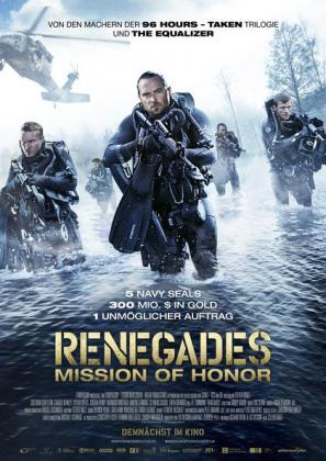 Filmplakat von Renegades - Mission of Honor