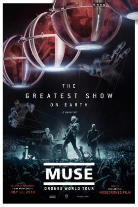 Filmplakat von Muse: Drones World Tour (OV)